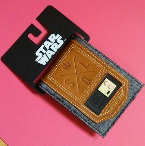 Star Wars Han Solo wallet - Disney Bioworld
